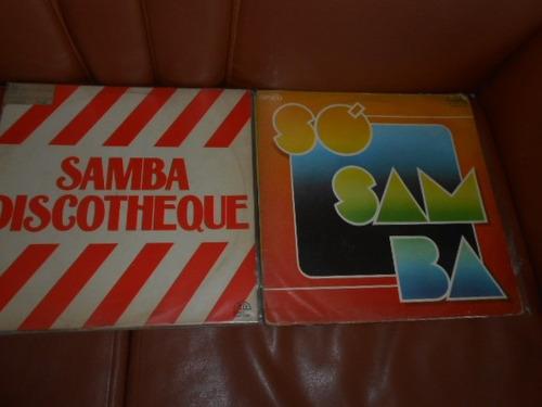 vinil coletânea samba 7 discos raros em oferta
