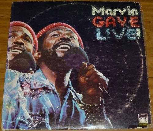 vinil como nuevo de coleccion marvin gaye live bs 390.000