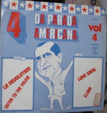 vinil compacto  4 da parada americana  1972    -  x1