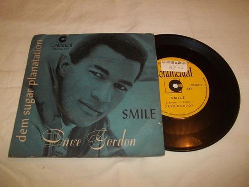 vinil compacto ep - dave gordon - smile