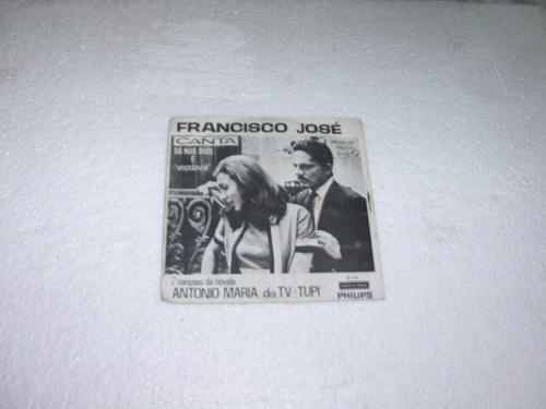 vinil compacto / novela antonio maria / 1968 / tv tupi
