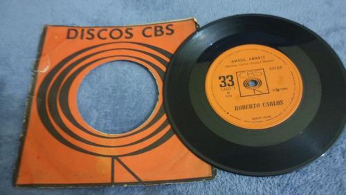 vinil compacto roberto carlos 1971 amada amante mpb anos 70