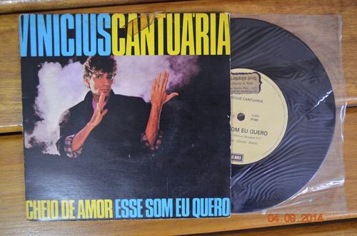 vinil compacto - vinicius cantuária - 1985