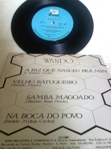 vinil    compacto                wando    1976