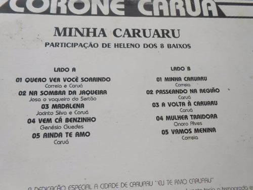 vinil coroné caruá lote com 2 lp's raros pelo preço de um