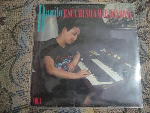 vinil   danilo e sua música maravilhosa   - tecladista