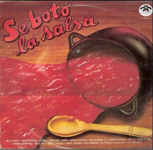 vinil de coleccion perfecto estado se boto la salsa bs 8500