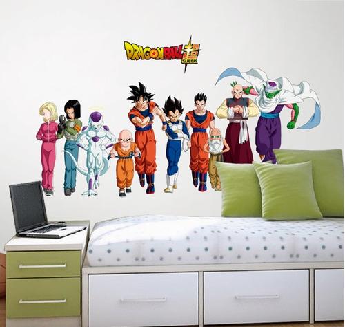 vinil decorativo dragon ball 101 anime manga sticker gigante