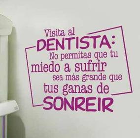 Vinil Decorativo Para Consultorio Dental 50x70