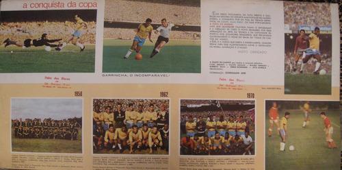 vinil duplo a copa é nossa - copas de 1958,1962 e 1970