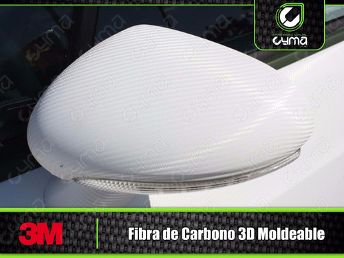 vinil fibra de carbono 3d 3m moldeable airfree1.52 x 0.25