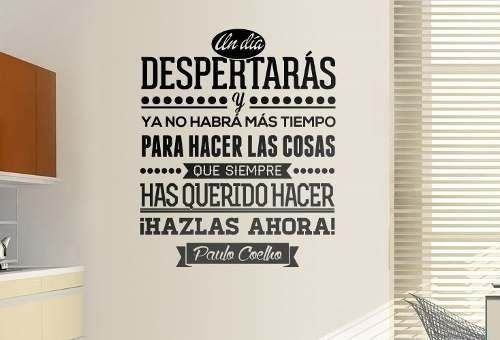 Vinil frases para hogar charles chaplin 100 x 83 cm - Vinilos con textos ...