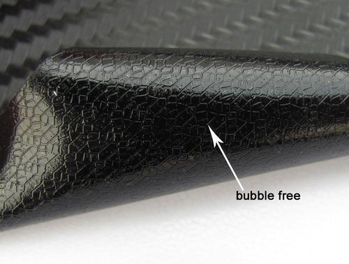 vinil imitacion fibra de carbono 3d 1x1.52m free burble  au1