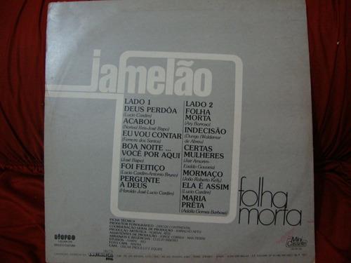 vinil  jamelão   - folha morta - 1977
