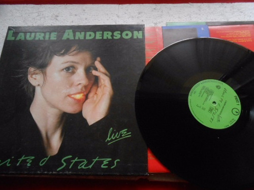 vinil laurie anderson live united states box caixa 5 lps enc