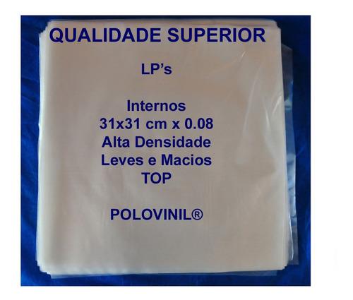 vinil lp 200 plasticos gatefold capa dupla 100 +100 internos