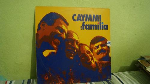 vinil / lp caymmi em familia