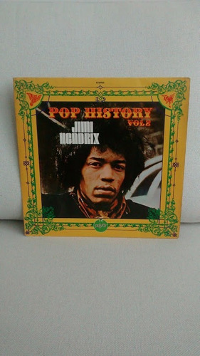 vinil lp disco jimi hendrix pop history vol 2 raro excelente