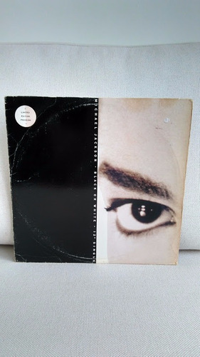 vinil lp disco michael jackson black or white single raro