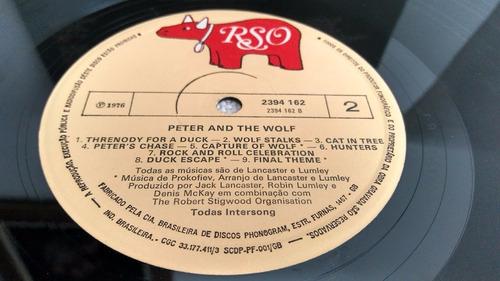 vinil lp disco peter and wolf pedro e o lobo phil collins