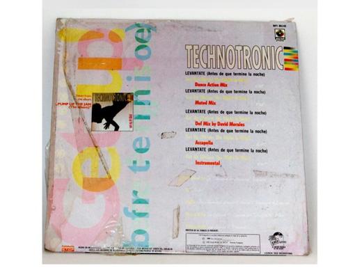 vinil lp disco technotronic de los 90's para dj