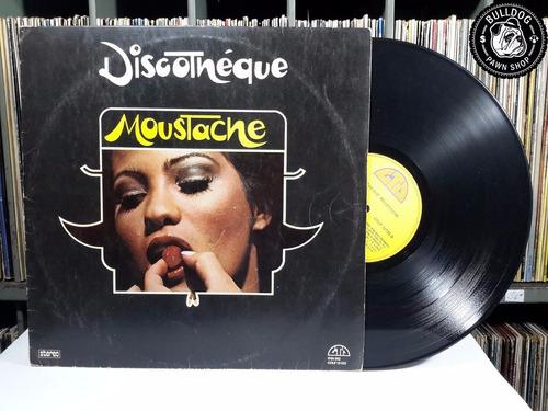 vinil lp discothéque moustache - veja o video- dj