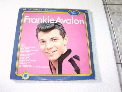 vinil lp frankie avalon / timeless freasures / 1989