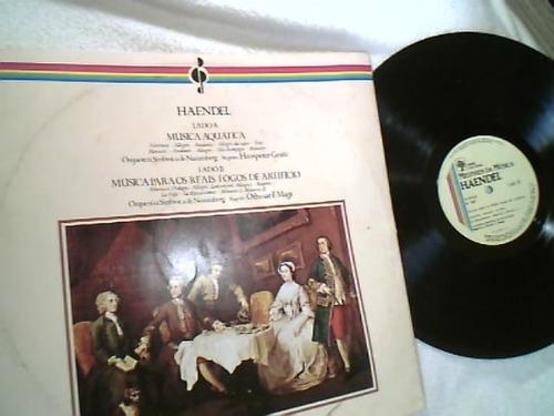 vinil lp (haendel - mestres da música ) 1980 - ótimo estado