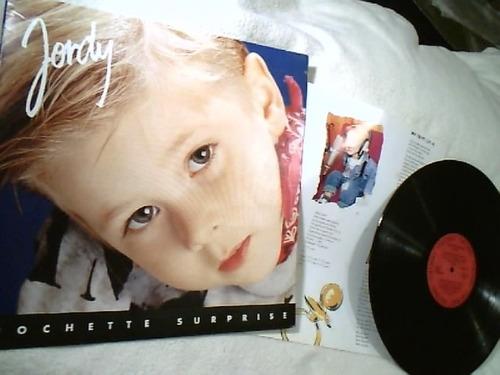 vinil lp  ( jordy - pochette surprise ) columbia - 1992