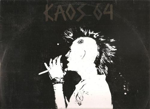 vinil lp - kaos 64 - o kaos continua - 1992