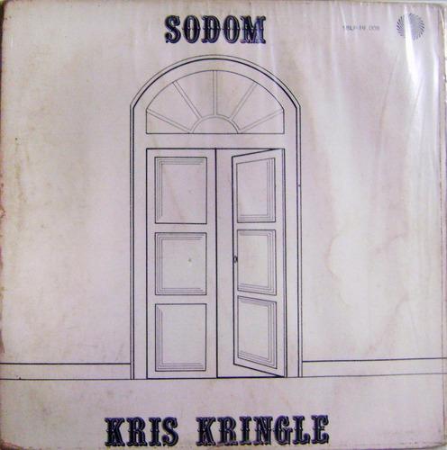 vinil / lp - kris kringle - sodom
