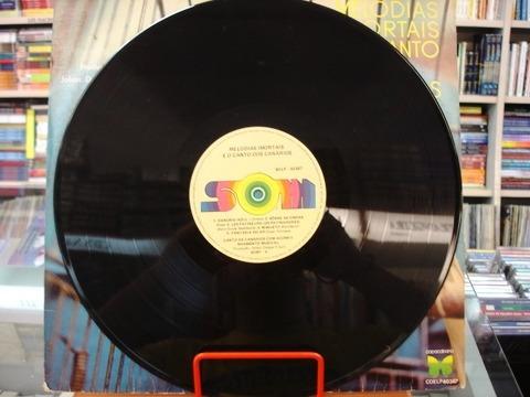 vinil / lp - melodias imortais e o canto dos canários