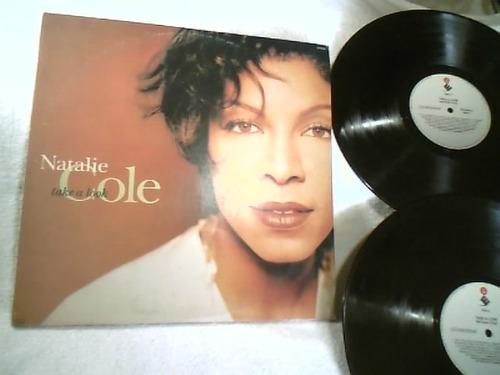 vinil   lp  (  natalie  cole  )    take a look  -  1993