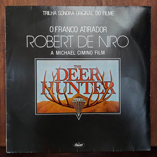 vinil lp o franco atirador robert de niro the deer hunter