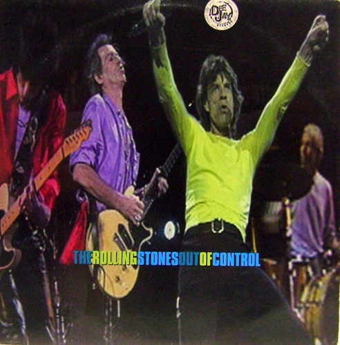 vinil / lp - rolling stones - out of control