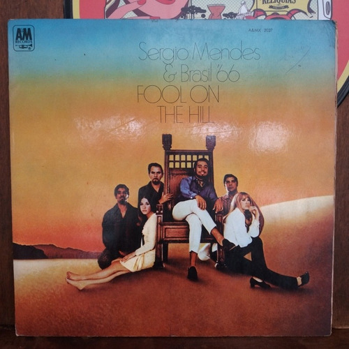 vinil lp sérgio mendes e brasil 66 fool on the hill