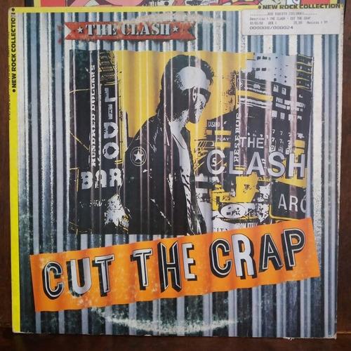 vinil lp the clash cut the crap
