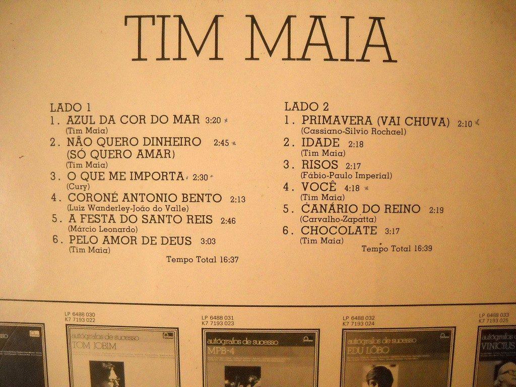 autografos de sucesso tim maia