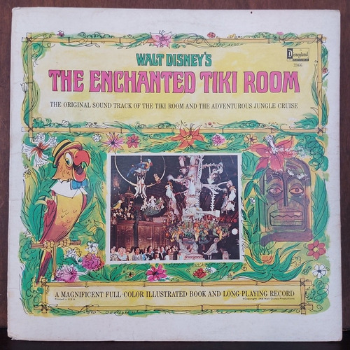 vinil lp walt disney's the enchanted tiki room 1968