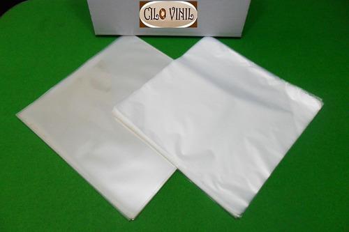 vinil lps 30 plásticos - 15 extra grosso 0,20 + 15 internos