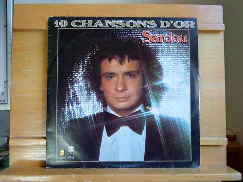 vinil michel sardou - 10 chansons d'or