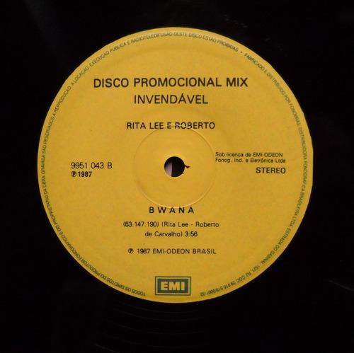 vinil - mix   rita lee -   bwana   (1987)