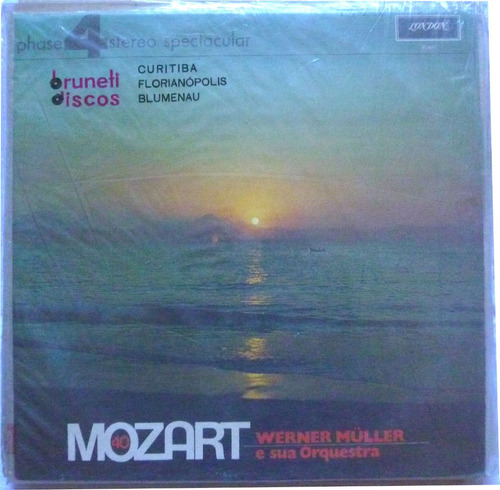 vinil mozart - warner müller e sua orquestra