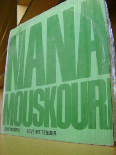 vinil nana mouskouri - why worry? & love me tender