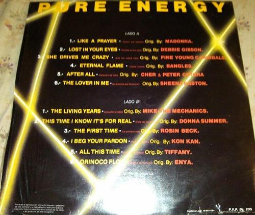 vinil nuevo clasico del pop 80 pure energy bs 15900