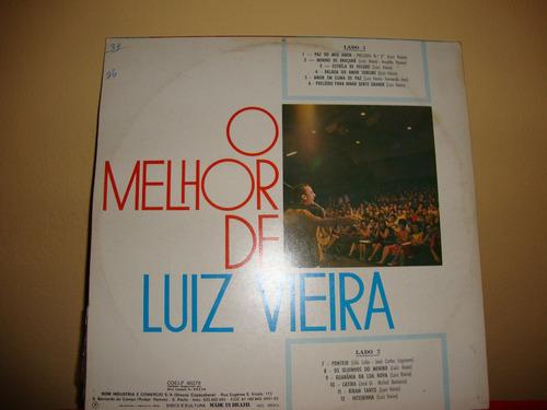 vinil o melhor de luiz vieira - 1972