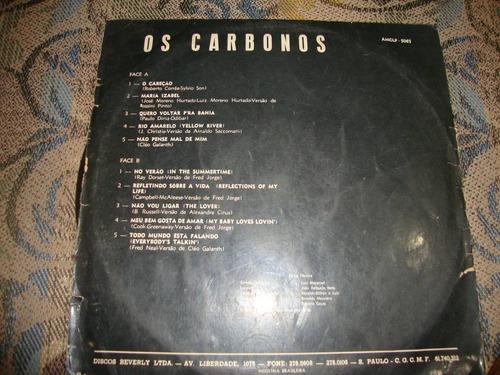 vinil   os carbonos   - 1970