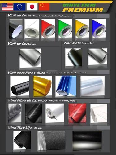 vinil papel fibra carbon