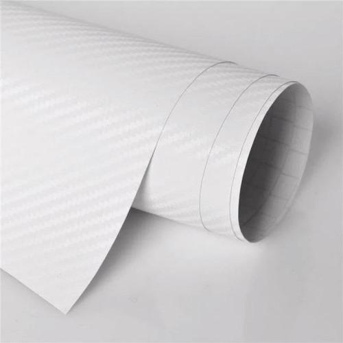 vinil papel fibra de carbon 3d moldeable 0,50mt x 1.52m anch