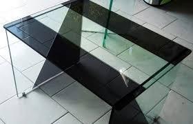 vinil para mesa de vidro cristal vermelho / fumê decorativo.